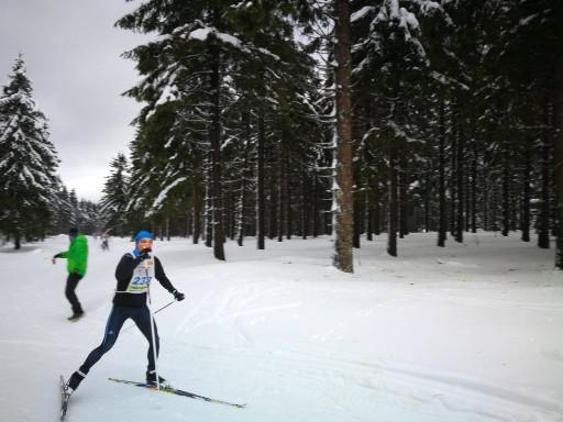 Verpflegung beim Rennsteig Skilauf